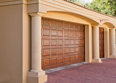 Residential Wooden Sectional Garage Door - DR Garage Doors